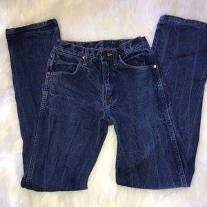 Wrangler jeans 27x34